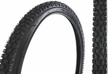 PAIR 22 x 1.75 (47-456) Pneumatici Mountain Bike, molto difficile da trovare dimensione pneumatici ciclo