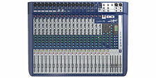 Soundcraft Signature 16 Small Format 16 Input Audio Mixer Ghost Mic Preamps