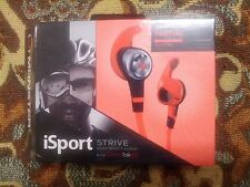 NEW Monster iSport Strive w/ ControlTalk In-Ear orange Headphones