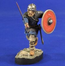 Verlinden 54mm (1/32) Charging Viking Warrior Vignette with Base [Resin] 2805