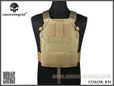 EMERSON LBT6094 Style SLICK Medium Plate Carrier (Khaki) EM2982D