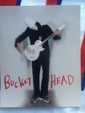 buckethead 8x10 autografted photograf