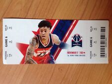 Used Washington Wizards Tickets 12/17/2016 vs New York Knicks Kelly Oubre