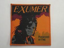 EXUMER POSSESSED BY FIRE WOVEN PATCH