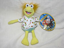 "Fraggle Rock Wembley Plush 9"" TAG Jim Henson Yellow Green Shirt Hair Nanco NEW"