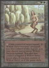 MTG 1x  Willow Satyr Moderate Play Legends English