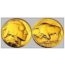 OR/GOLD PL MONNAIE  USA D'AMERIQUE A LA TETE D'INDIEN ET BISON  DEBUT 1900