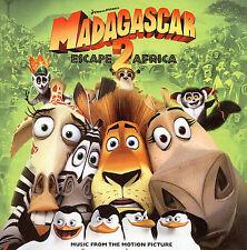 MADAGASCAR: ESCAPE 2 AFRICA [ORIGINAL SOUNDTRACK] NEW CD