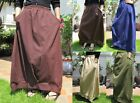 Vintage Bohemian Cotton Long Maxi Free Size Skirt Funky Hippie Gypsy Boho Summer