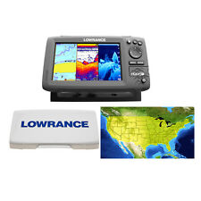 Lowrance HOOK-7 GPS/Fishfinder/Transducer Includes Cover & Lake Insight Chart