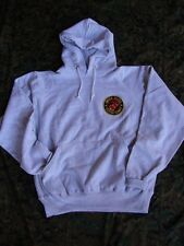USMC Marine Corps Patch Gray Hooded Hoodie Heavy Duty Thick Sweatshirt US Made