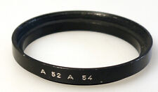 (PRL) ANELLO RING ADATTATORE ADAPTER BAGUE ADAPTATEUR A52 --  A54 STEP-UP FILTER