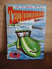 1967 THUNDERBIRDS LIVRE LIBRO BOOK  EDITIONS FHER ESPAGNE