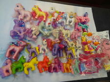 Fun Collection of My Little Pony PVCs-Combable Ponies & More 39pcs