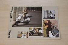 166989) Yamaha XC 125 Beluga Prospekt 08/1991