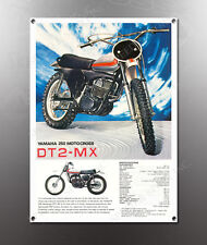 VINTAGE YAMAHA DT2 MX IMAGE BANNER NOS IMAGE REPRODUCTION