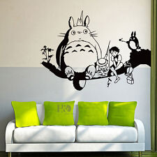 Kid Totoro Branch Mural Removabe Wall Sticker Decal Kids Room Home Nursery Decor