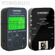 Yongnuo YN-622N Wireless i-TTL Flash Trigger 1/8000s For Nikon SB900 SB800 D7100