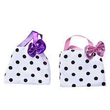 Polka Dot Hangbag for Barbie Dolls Fashion Bag Kids Toy Barbie Doll Acc to