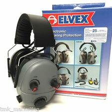 DeTune Electronic Earmuffs by Elvex (50% OFF SPECIAL PRICE)