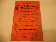 Tool Collectors Handbook of Prices Paid at Auction Illustrated 1972 135-1E