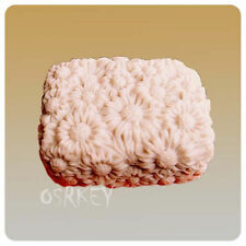 Flower Field S061 Silicone Soap mold Craft Molds DIY Handmade soap mould