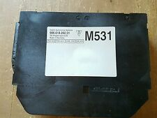 Porsche 996 986 Steuergerät Wegfahrsperre Alarm. 99661826201 M531 mit Datenkopie