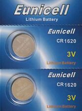 2 batteries CR1620 EUNICELL - 3V Lithium