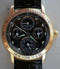 Audemars Piguet 18K Rose Gold Equation of Time Perpetual Calendar Watch 25934OR