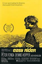 EASY RIDER - MOVIE POSTER - 24x36 FONDA HOPPER ONE SHEET 1748