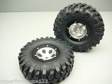 VXP SCX10 All Alloy Wheel & Tire Set for AXIAL Crawler Tyre Honcho Dingo Jeep