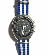 "Omega 1969 Speedmaster Mark II Chronograph Pulsations ""Doctor's Ed/n"" Ω 861"