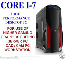 DESKTOP PC COMPUTER CORE I-7 UPTO 3.6GHz/8GB/1TB/1GB GRAPHICS/ HIGH ATX CABINET