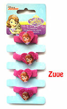 Disney Junior Sofia the First Hair Bobbles for Ponytails Girls Hair Ties