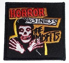 THE MISFITS horror business EMBROIDERED IRON-ON PATCH **Free Shipping** -c p1870