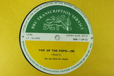 BBC 268 Transcription Disc TOP POPS Led Zeppelin Marmalade Manfred Mann