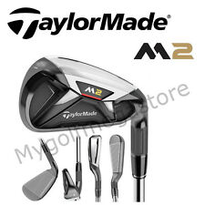 "Taylor Made M2 Irons 4-PW Regular Steel Shafts - (+1"" Longer) - New - CFIR27"