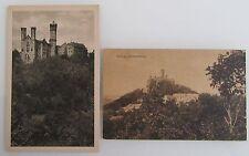 2x Schloss Schaumburg bei Balduinstein alte Postkarten Lot ~1920/30 ungelaufen