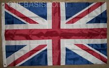 3'x5' British Nylon Sewn Applique Flag Outdoor UK Union Jack United Kingdom 3X5
