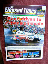 THE ELAPSED TIMES NEWS MAGAZINE OF AUSTRALIA'S No. 1 DRAG RACING TRACK  #86