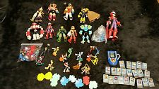 Megaman EXE Toy lot Action figures PET Chip Protoman boys collectible