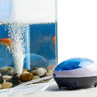 Neu Ultra Leise Hoch Energie Effizient Aquarium Sauerstoff Luftpumpe 2/1.5W