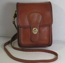 Coach Vintage British Tan Leather Small Shoulder Pouch - NYC - Refurbished