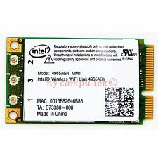 New Intel Wireless WiFi 4965AGN MM1 Mini Card 4 Dell XPS M140 M1210 M1330 M1530