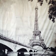 The Eiffel Tower - Paris France fabric shower curtain
