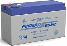 Power Sonic PS-1290 Battery 12V 9AH 12 Volt 9 Amp 6-DW-9 CP1290 HR9-12 NEW F2