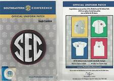 South Carolina SEC Conference Jersey Uniform Patch 100% Official Football Logo