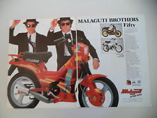 advertising Pubblicità 1989 MALAGUTI FIFTY TOP 50