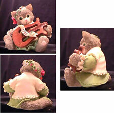 CALICO KITTENS - THE FIRST NOEL - 1995 PRISCILLA HILLMAN - 144606 - 5C7/184