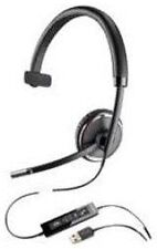 NEW Plantronics Blackwire C510-M Mono Headband Audio USB Wired Headset & Case